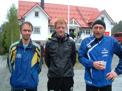 Helge Hafsås, Johannes Thingnes Bø og Audun Skogen