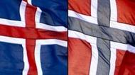 Norge_Island_flagg