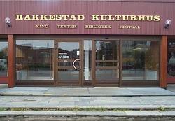 Kulturhus inngangsparti