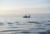 Båt på storhavet