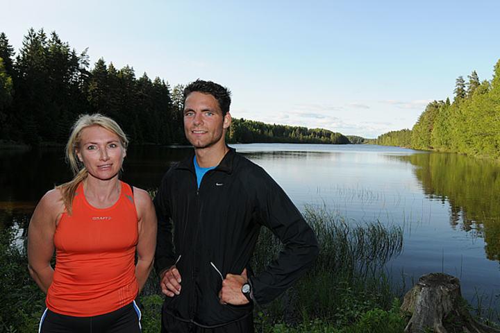 Rolf Bøhn tok dette idylliske bildet en juni-sommerdag i 2011 av vinnerne  Hege Gathen og  Finn Markus Johansen
