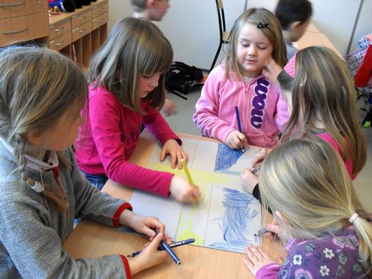 Barn tegner