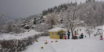 Vinter i barnehagen