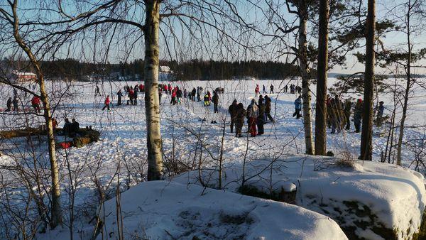 Vinterdag på Rømsjøen