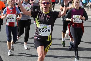 Ellen Wold i Sentrumsløpet i 2012