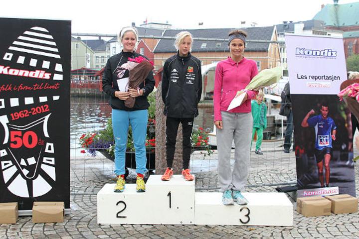 Fra Kondis på besøk i Arendal i 2012 da 12 år gamle Elin Upstad vant Skagerakmila