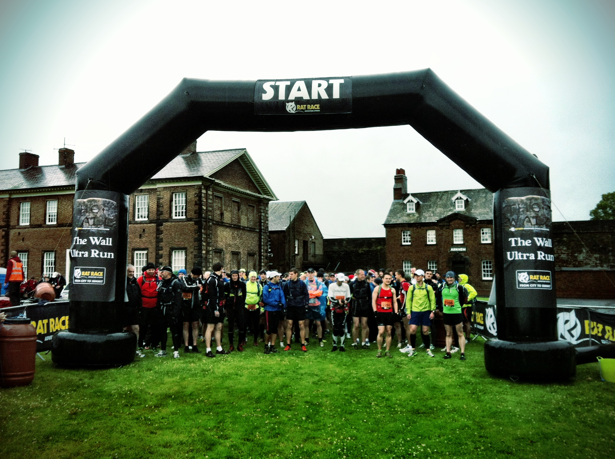 Carlisle Castele var startsted for The Wall Run