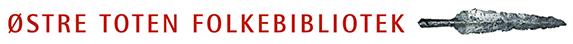 Østre-toten folkebibliotek logo