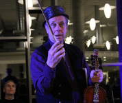 Ola Mosafinn minnekonsert Voss spelemannslag hardingfele konsert biblioteket kulturhus Leif Rygg