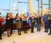Ola Mosafinn minnekonsert Voss spelemannslag hardingfele konsert biblioteket kulturhus voss spelemannslag