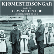 Cd-cover Kjømeistersongar