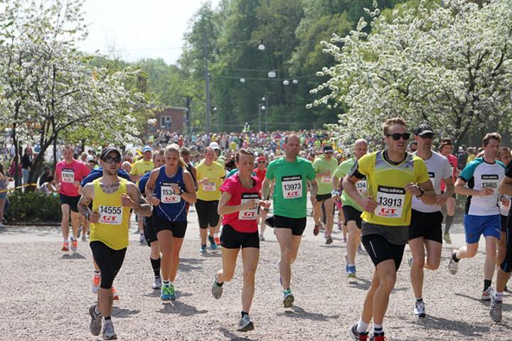 Göteborgsvarvet er verdas største halvmaratonløp, og i fjor tok 46 425 løpere seg til mål. (Foto: Runar Gilberg)