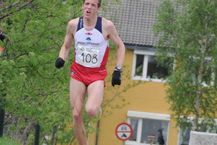 Helge Langen vinner Selbuløpet i 2013. Foto: Arne Brunes