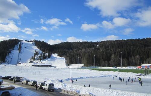 Vinteraktiviteter i Marikollen idrettspark
