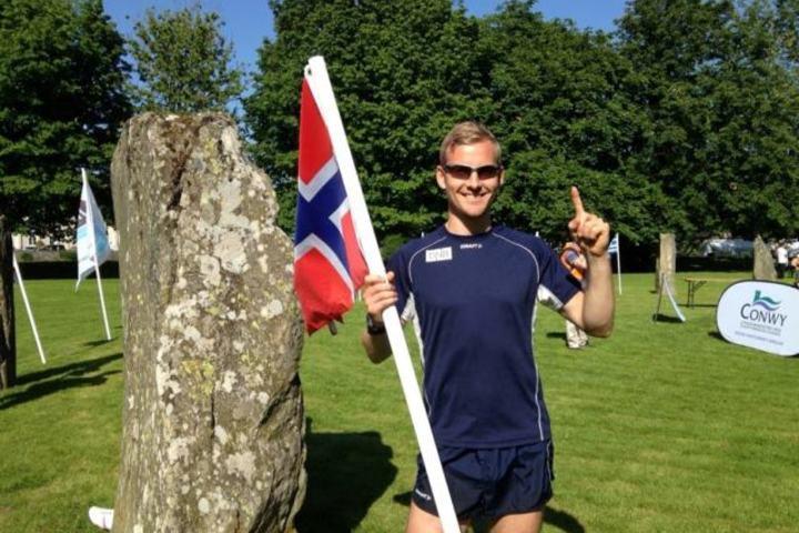 Didrik Hermanen etter 10. plassen i forrige VM terrengultra i Wales.