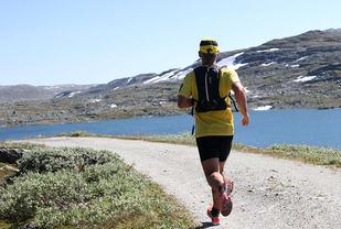 Rallarvegsløpet byr på en av landets flotteste løpstraseer. (Foto: Runar Gilberg)
