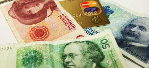 Sedler og kredittkort