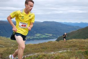 Johan Bugge fra løyperekordløpet i 2013