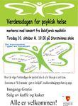 Verdensdagen for psykisk helse på Cafe Avec 24.10.16