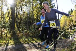 Så herlig det er å løpe i marka! Fra Fredrikstadmarka Rundt 2013 (Foto: Bjørn Johannessen)