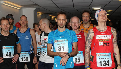 Start NM 24-timers i 2013. (Foto: Kjell Vigestad)