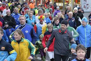 Bildet fra en tidligere utgave av nyttårsløpet (foto: Bjørn Johannessen).