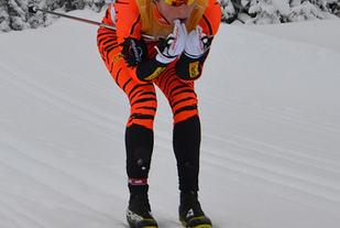 Christoffer Callesen, her i seieren i Næringslivsmesterskapet i 2014 Foto: Andrea Hagetrø/SkiAktiv.no