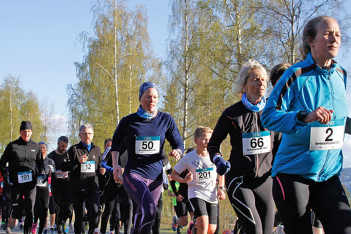 Bilde fra starten i 2014 - Foto: Jørgen Skaug
