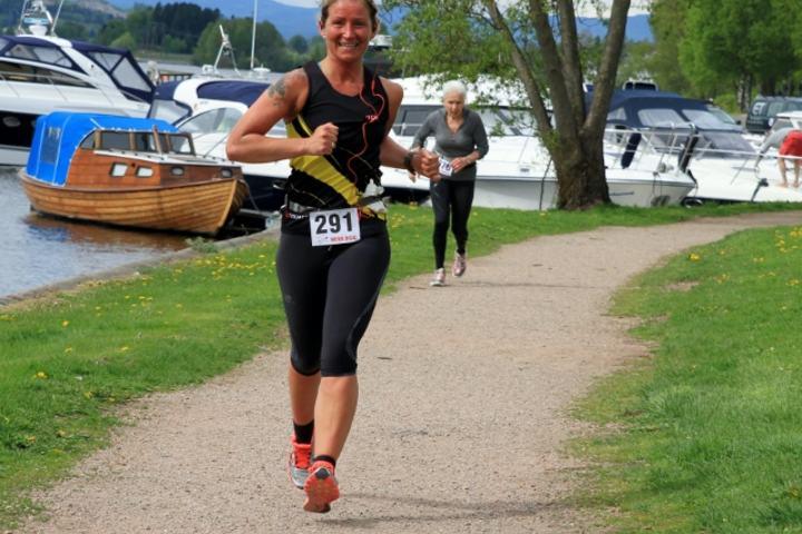 Cecilie Holmgren var en av deltagerne i fjorårets Kick-Master Ultra som arrangeres elvenært i Drammen (foto: Olav Engen).