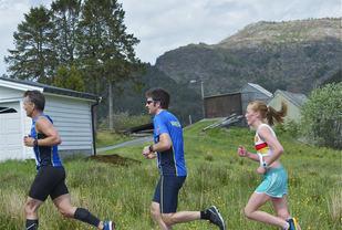 Eli Anne Dvergsdal vant halvmaraton i 2014 suverent. Foto: Jørgen Pettersen
