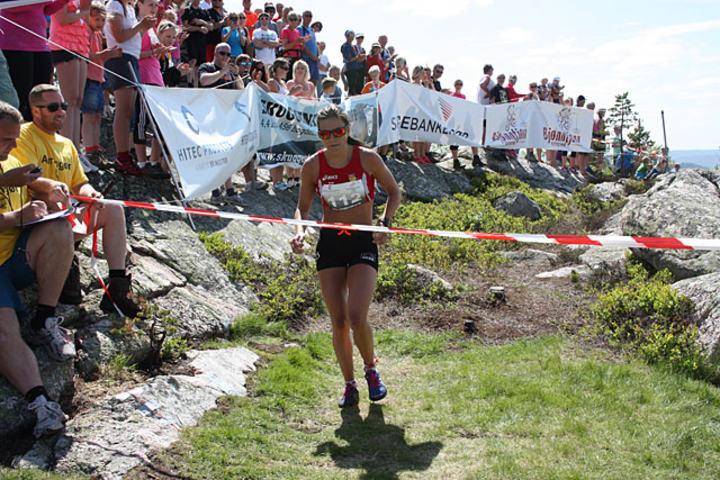 Heidi Weng vant Skuggenatten Opp i fjor. Foto: Turid Veggeland