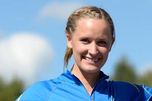 Hedda Hynne viste meget god form da hun løp 600 m innendørs på 1.28,91. (Arkivfoto: Bjørn Johannessen)