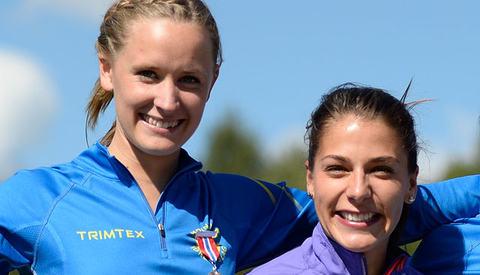 Hvorfor skal ikke Hedda Hynne og Trine Mjåland få delta i OL hvis de klarer det internasjonale kravet? Er det ikke litt ironisk at de nasjonene som fokuserer mest på antidoping, også skal ha de strengeste krava for å få være med? (Foto: Bjørn Johannessen)