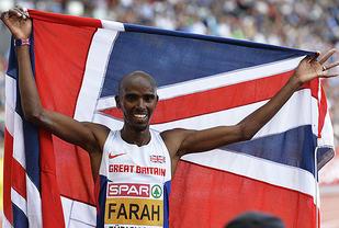 Mo Farah ble langdistansekongen også i VM i Beijing. (Arkivfoto: Bjørn Johannessen)