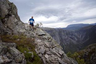 Hardangervidda marathon is far from a flat marathon.
