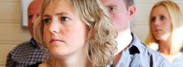 Inger Marie Jordal er nytilsett ingeniør på eigedomsavdelinga til Lindås kommune.