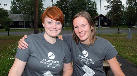 Kalottspel-sjefane 2014 - Ragnhild Furebotten og Sigrunn Haugli.
