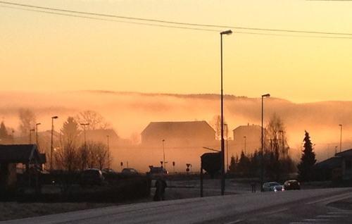 Novembermorgen på Fjerdingby