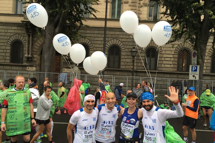 Firenze Marathon Ballonggutta foto privat