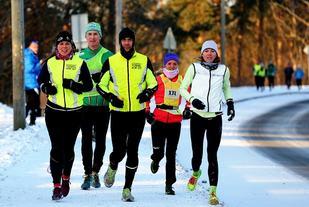 Både i fjorårets løp og i 2014 der dette bilder er tatt, var det vinterlige omgivelser. Rekker snøen å komme også i år? (foto: Bjørn Hytjanstorp).