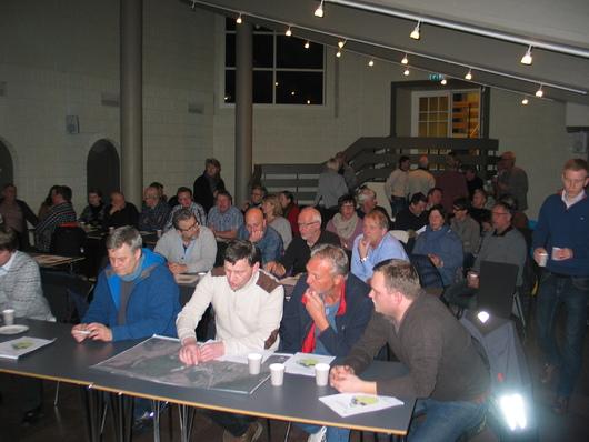 Over 50 personer møtte opp på møtet