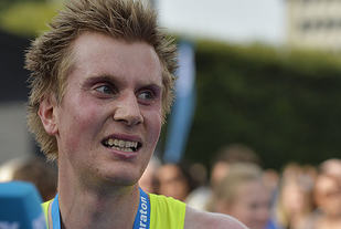 Sondre Nordstad Moen topper 10 km- og halvmaratonstatistikken og har i tillegg en andreplass på maratonstatistikken. (Foto: Bjørn Johannessen)
