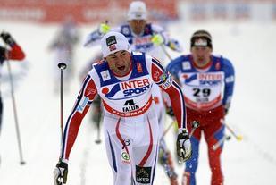 Foto: Northug vinner femila i Ski-VM i fjor. Foto: Arrangøren