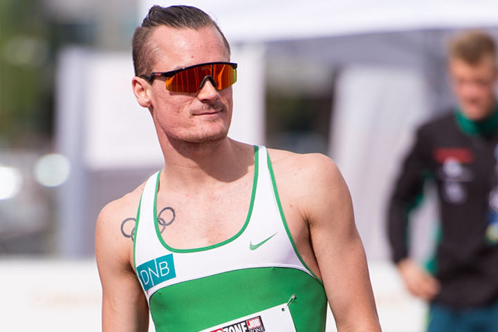 Henrik Ingebrigtsen løp inn til sjetteplass i London. (Arkivfoto: Erling Pande Braathen)