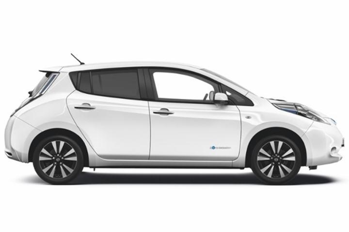 To heldige deltagere vinner 6 måneders fri bruk av en Nissan Leaf elbil.