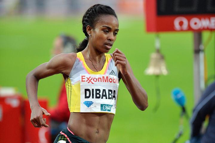 Genzebe Dibaba vant sitt første VM-gull. (Arkivfoto: Bjørn Johannessen)
