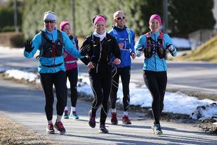 Fra PåskeHareMaraton 2015. (Foto: Bjørn Hytjanstorp)