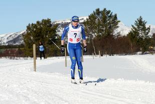 Hanna Skulbru har for vane å vinne påskerennet i Tufsingdalen og tok i år sin fjerde seier på rad! Her fra rennet i 2015.