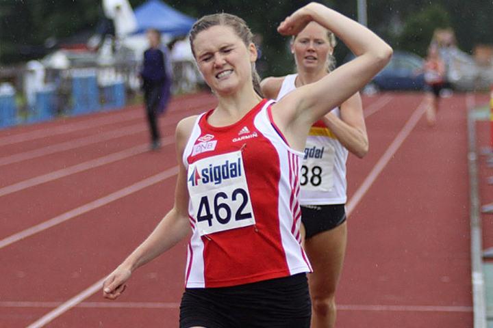 Bare tre norske kvinner har noen gang løpt fortere på 3000 m hinder enn det Ingeborg Løvnes gjorde i Paavo Nurmi Games i Finland. (Arkivfoto: Stig Vangsnes)