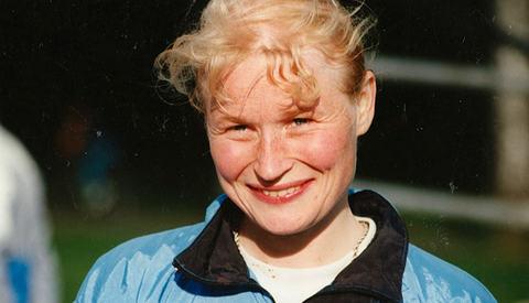 Hilde Stavik, fotografert i 1994.